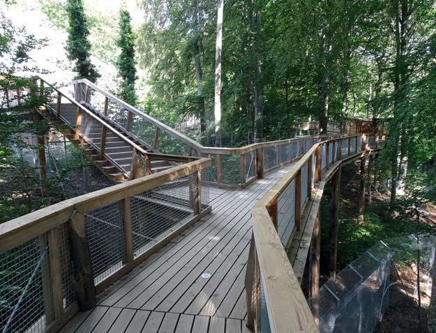 Passerelle, Parc animalier La Garenne, 2016